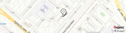 Приятель на карте Волжского