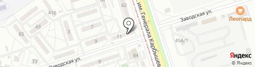 Архитектурная мастерская на карте Волжского
