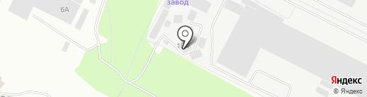 Атлас-КМ на карте Волжского