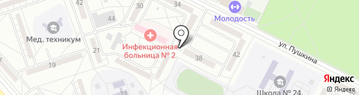 В двух шагах на карте Волжского
