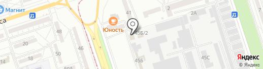 АвтоУспех на карте Волжского