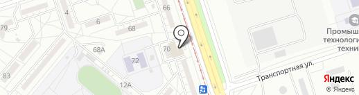 ДвериМолл на карте Волжского