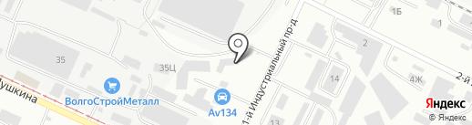 Автодом на карте Волжского