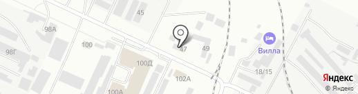 АвтоКФ на карте Волжского