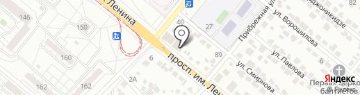 Империя Н на карте Волжского