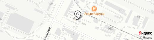 Автоэлемент на карте Волжского