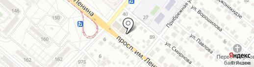 Кафе на карте Волжского