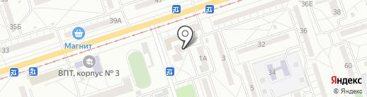 Продуктовый магазин на карте Волжского