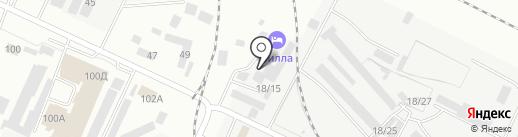 Вилла на карте Волжского