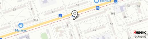 Хлебнаш на карте Волжского