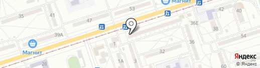 ВетВолга на карте Волжского