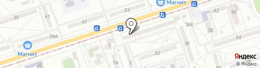 Магазин чая, кофе и табачных изделий на карте Волжского