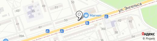 Магазин овощей и фруктов на карте Волжского