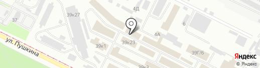Промресурссервис на карте Волжского