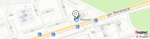 Креветка на карте Волжского