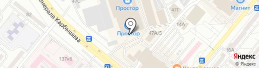Банкомат, Райффайзенбанк на карте Волжского