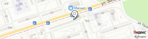 Иволга на карте Волжского
