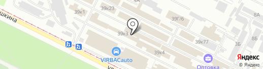 Волжский ковровый центр на карте Волжского
