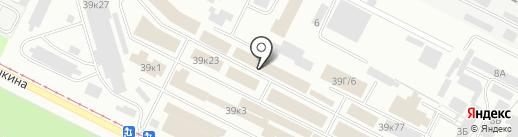 Оптовая компания на карте Волжского