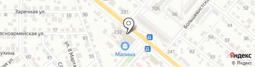 Инфрасеть на карте Волжского