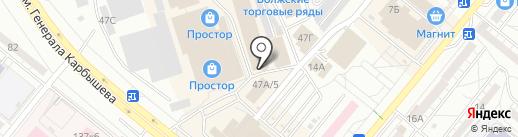 Asur MOD на карте Волжского