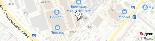 Стройфаворит на карте Волжского