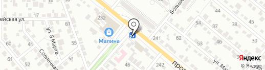 Ахтуба моторс на карте Волжского