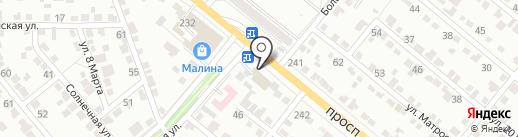 Волга-Газель на карте Волжского