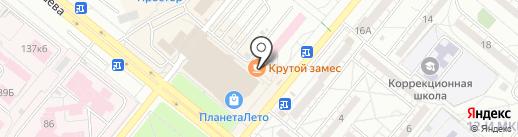 Крутой Замес на карте Волжского