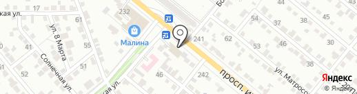 Стройбат на карте Волжского
