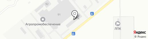 Бафф-тобакко голд на карте Волжского