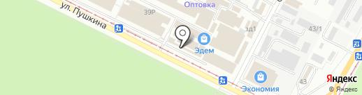 Хорошие двери на карте Волжского
