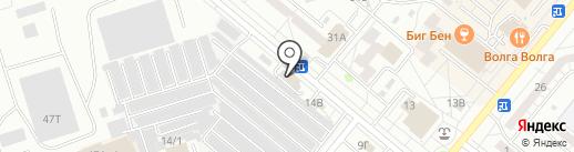 Капелька на карте Волжского