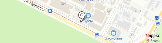 Авгит-Инструмент на карте Волжского