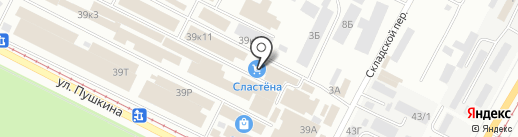 РЫБНЫЙ МИР на карте Волжского