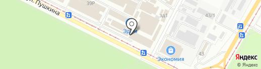 Карапуз на карте Волжского