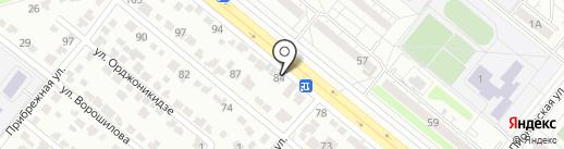 Автоцентр на карте Волжского