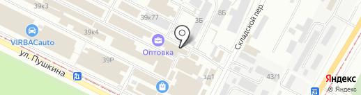 Компания по продаже встраиваемой бытовой техники и сантехники на карте Волжского