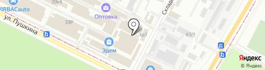 2 колеса34 на карте Волжского