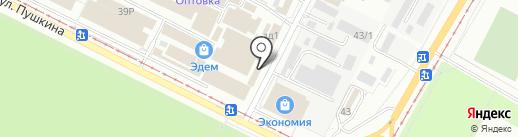 Салон оптики на карте Волжского