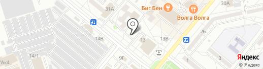 Третий тайм на карте Волжского