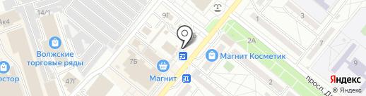 Магазин овощей, фруктов и солений на карте Волжского