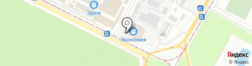 Магазин посуды на карте Волжского