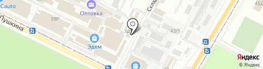 Магазин штор на карте Волжского