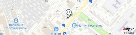 Медтехника на карте Волжского