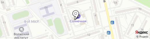 Центр снижения веса Доктора Гаврилова на карте Волжского