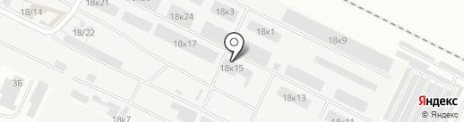 Стеклосоюз на карте Волжского