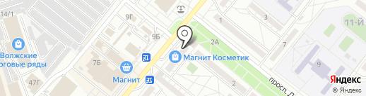 Деловые Люди на карте Волжского