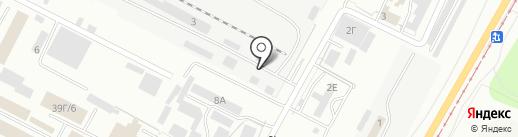 ВолгаЛес на карте Волжского