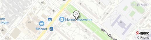 Магия Рукоделия на карте Волжского